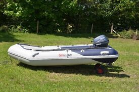 RIB Honwave (2014) t32ie with Yamaha 9.9HP 4 stroke (NOW SOLD)