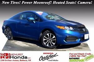 2014 Honda Civic Coupe EX Honda Certified! New Tires! Power Moon