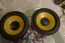 "Scanspeak 18W/8546-00 Classic 6.5"" Speakers/Mid/Bass Woofers (pair)"