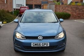 A golf Match Edition with full VW service History and 1 previous owner