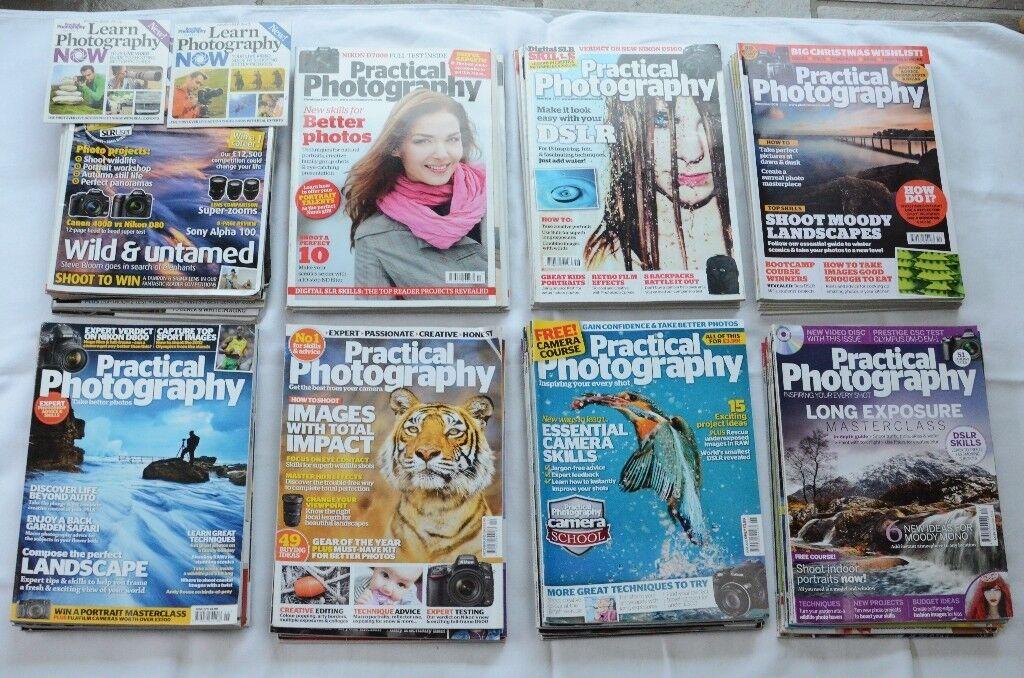 43 Practical Photography magazines