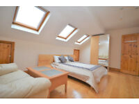 W14: THREE / FOUR Bedroom Flat in Brook Green (2 bathrooms)