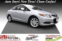 2012 Honda Civic Coupe EX - Honda Certified No Accident! Mint Co