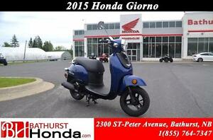 2015 Honda Giorno Smooth and Nimble!! Excellent Fuel Economy!!