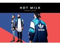 90's vintage clothing for men & women: track jackets, sweatshirts, etc. (Adidas, Nike, Kappa,Reebok)