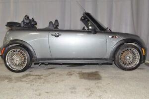 2007 Mini COOPER S CONVERTIBLE - PNEUS D'HIVER SUR MAGS - MANUEL