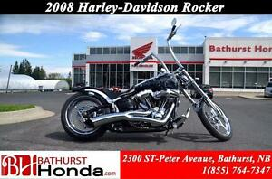 2008 Harley-Davidson Rocker WOW!!  CUSTOM AIRBRUSH !!