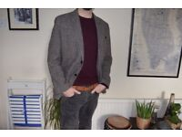 Men's Donegal Wool Tweed Blazer / Jacket - Size 44R - Excellent cond. RRP £225 -