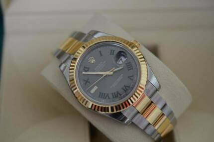 Rolex Gents 18ct Gold and St Steel Datejust II Watch