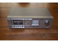 Vintage classic AKAI CS-M3 cassette deck, clean, works great!!