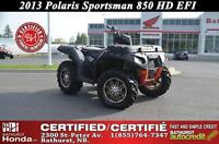 2013 Polaris Sportsman850 Twin HD Front Cargo Box! New Front and