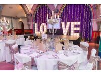 Wedding Cakes & All Event Decor- New Ceiling drapes, Starlight backdrops & More!!