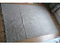IKEA Filskov Rug - flatwoven, grey/white handmade 170x240 cm
