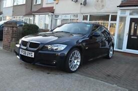 Bmw 3 series - 318i M sport black 18' alloys, Idrive Sat Nav, heated black leather, FSH, HPi clear