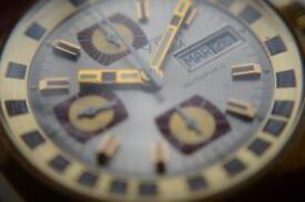 Yota automatic mechanical chronograph wristwatch - Vintage, '70s - GP