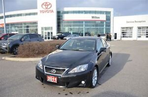 2011 Lexus IS 250 AWD, Automatic, Leather, Heated Seats