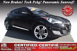 2012 Hyundai Veloster Tech Pckg! Certified! New Brakes! Tech Pck