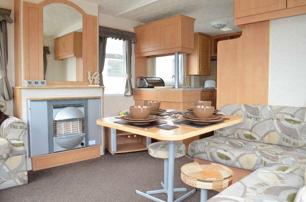 New CARAVAN FOR SALE  STUNNING PARK CLOSE TO THE SEA NEAR LARGS GLASGOW