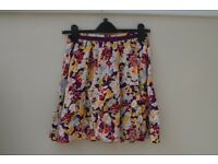 Topshop Colourful Floral Skirt