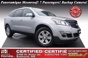 2014 Chevrolet Traverse 1LT Certified! V6! AWD! Panoramique Moon