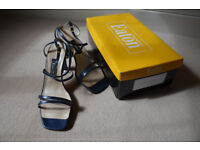 EATON brand shoes (made by the BALLY factory in the UK) Model: 'SASHA' Size 4 1/2. Unworn.