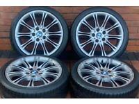 "BMW 3 Series 18"" M Sport MV2 Alloy Wheels 5x120 E46/E90/E91/E92/E93"
