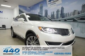2016 Lincoln MKX Select | AWD, CUIR, TOIT, NAVIGATION