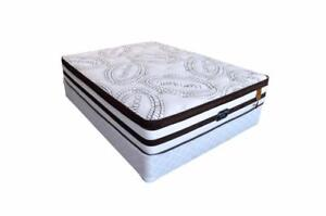PILLOW TOP GEL FOAM MATTRESS WITH POCKET COILS - SALE (MAT63)