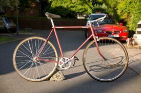 Fixed Gear Bike, Vintage raleigh frame