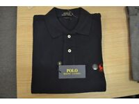 Mens Short Sleeves Ralph Lauren Factory Seconds Polo T shirts in Various Colors