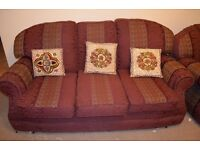 Sofa set (4 piece) and Arm chair for sale