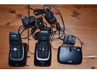 BT Elements Cordless phone twin