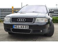Audi A6 S6 S-Line, LHD, Left Hand Drive, 4.2, petrol, estate avant, quattro, leather, SAT-NAV, auto