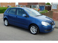Volkswagen Polo 1.4S 5dr Hatchback, petrol, 57 reg, 1 lady owner, exc cond, fsh. Private sale.