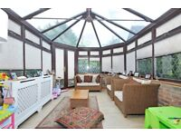 Leydon Close - A three double bedroom house to rent with conservatory and private garden