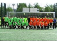 Looking for somewhere to play football? Play football in London, find football in London, SLFN. rf