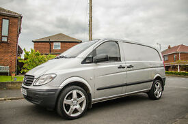No VAT! Mercedes Vito 2.1 109cdi, SWB, Alloy Wheels. (Never used as a work van!)