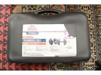 Lonsdale London 15Kg Dumbbell Set Brand New In Case Exercise Weight Fitness
