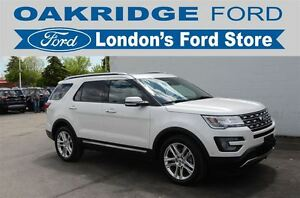 2017 Ford Explorer LIMITED 301A, ALL WHEEL DRIVE, HEATED AND COO