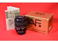 Nikon AF-D Micro 60mm f/2.8D Lens £280