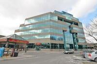 ★WINDOW OFFICE boardroom/furnished/receptionist@Eglinton/Airport