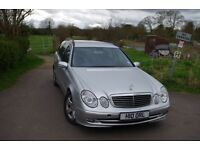 2006 Mercedes E220 CDI Diesel Avantgarde Estate, (private plate), silver, automatic. 179k miles.