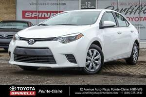 2015 Toyota Corolla *****LE PKG BACK UP CAM
