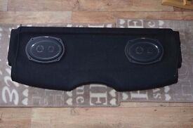 Vibe car speakers S69.3 fitted on peugeot 206 parcel shelf