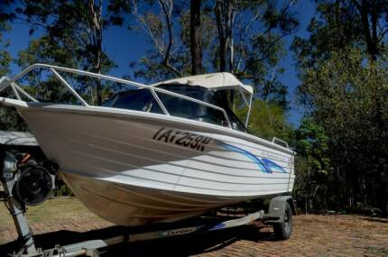 Boat - Quintrex 475 Bay Hunter Caprice (Millenium Hull) Nymboida Clarence Valley Preview