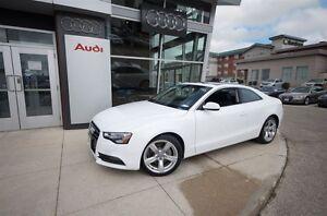 2013 Audi A5 2.0T 6sp manual Quattro - AUDI CERTIFIED!!