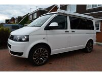 vw t5 campervan fitted sun canopy new 20'' alloys as new ex low miles