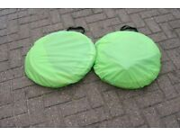 Childrens pop up tents & tunnells