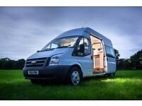 LWB Ford Transit brand new camper conversion, campervan,