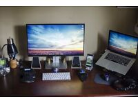 Dell U2715H 27-Inch Widescreen IPS LED 1440p Monitor & DELL AC511 - soundbar speakers